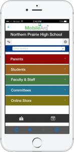 School Directory app and fundraising