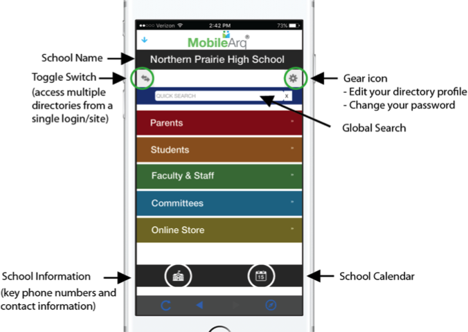 How the app is designed for the best user experience