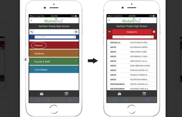 A more-connected school with a MobileArq school directory